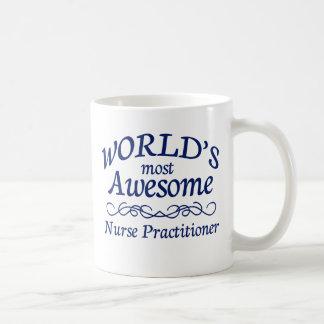 世界の最も素晴らしいナースの従業者 コーヒーマグカップ