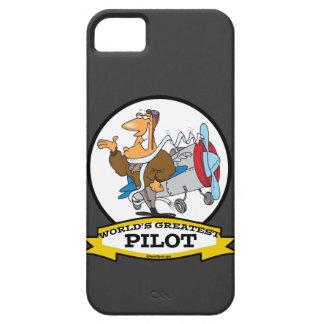 世界の最も素晴らしいパイロットIIの人の漫画 iPhone 5 ベアリーゼアケース