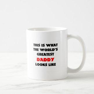 世界の最も素晴らしいパパのマグ コーヒーマグカップ