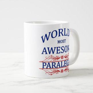 世界の最も素晴らしいパラリーガル ジャンボコーヒーマグカップ