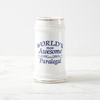 世界の最も素晴らしいパラリーガル ビールジョッキ