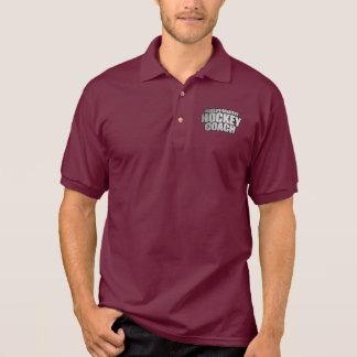 世界の最も素晴らしいホッケーコーチ ポロシャツ