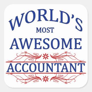 世界の最も素晴らしい会計士 スクエアシール