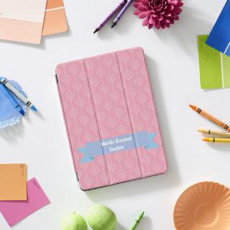 世界の最も素晴らしい先生の棒つきキャンデーのピンク iPad PROカバー