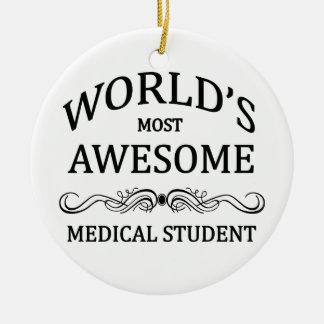 世界の最も素晴らしい医学生 セラミックオーナメント