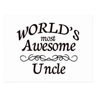 世界の最も素晴らしい叔父さん ポストカード