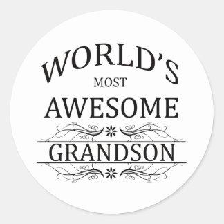 世界の最も素晴らしい孫 ラウンドシール