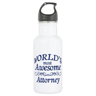 世界の最も素晴らしい弁護士 ウォーターボトル