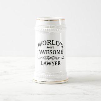 世界の最も素晴らしい弁護士 ビールジョッキ