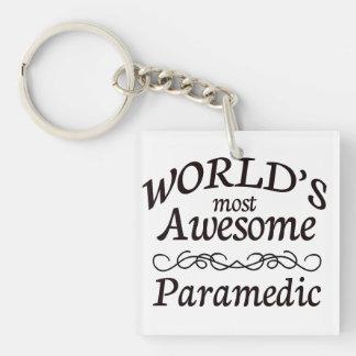 世界の最も素晴らしい救急医療隊員 キーホルダー