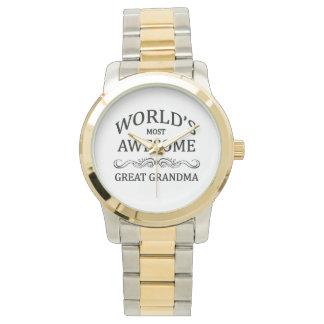 世界の最も素晴らしい曾祖母 腕時計