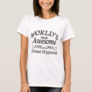 世界の最も素晴らしい歯科衛生士 Tシャツ