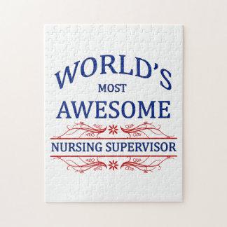 世界の最も素晴らしい看護のスーパーバイザー ジグソーパズル