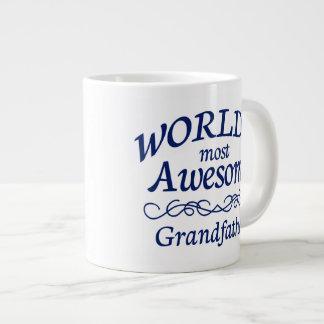 世界の最も素晴らしい祖父 ジャンボコーヒーマグカップ