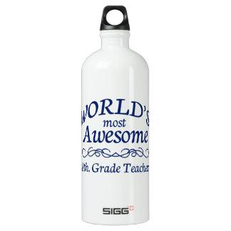 世界の最も素晴らしい第8。 等級の先生 ウォーターボトル