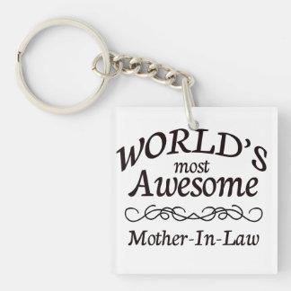 世界の最も素晴らしい義母 キーホルダー