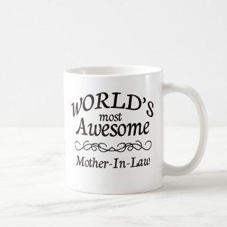 世界の最も素晴らしい義母 コーヒーマグカップ