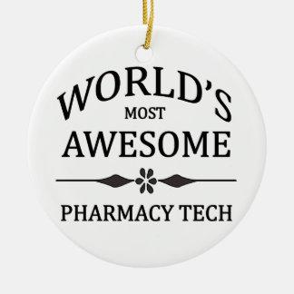 世界の最も素晴らしい薬学の技術 セラミックオーナメント