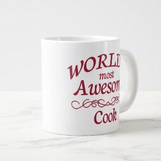 世界の最も素晴らしい調理師 ジャンボコーヒーマグカップ