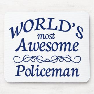 世界の最も素晴らしい警官 マウスパッド