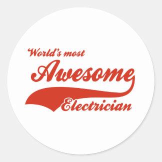 世界の最も素晴らしい電気技師 ラウンドシール