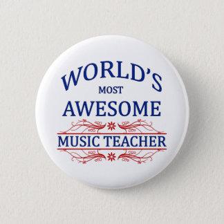 世界の最も素晴らしい音楽の先生 缶バッジ