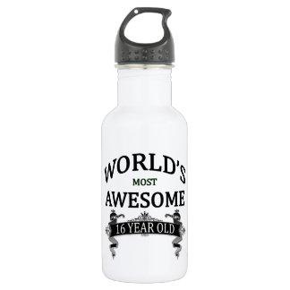 世界の最も素晴らしい16歳児 ウォーターボトル