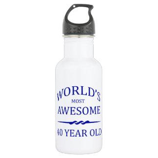 世界の最も素晴らしい40歳 ウォーターボトル