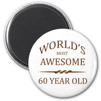 世界の最も素晴らしい60歳。 マグネット
