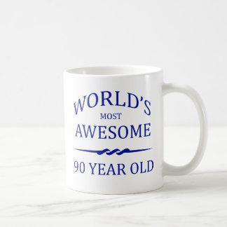 世界の最も素晴らしい90歳 コーヒーマグカップ