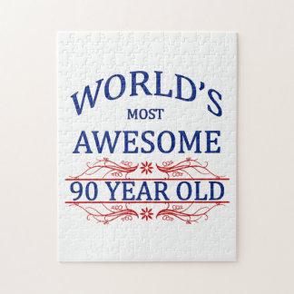 世界の最も素晴らしい90歳 ジグソーパズル