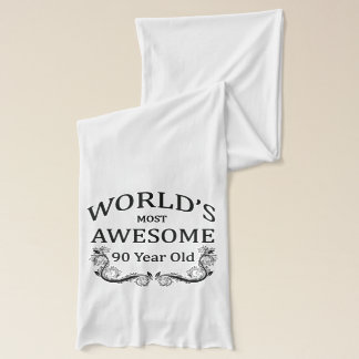 世界の最も素晴らしい90歳 スカーフ