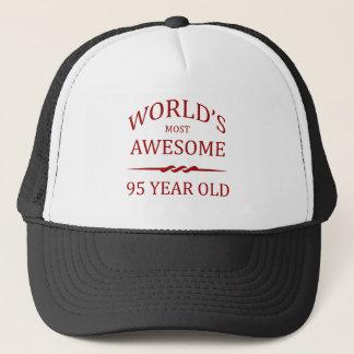 世界の最も素晴らしい95歳。 キャップ