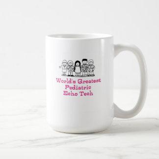 世界の最も素晴らしいpediのエコーの技術 コーヒーマグカップ
