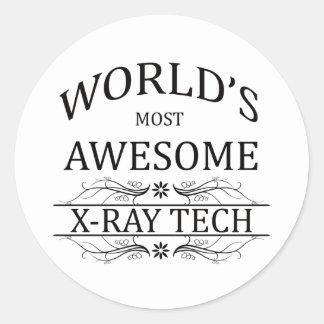 世界の最も素晴らしいX線の技術 ラウンドシール