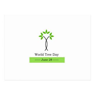世界の木日6月28日 ポストカード