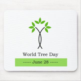 世界の木日6月28日 マウスパッド