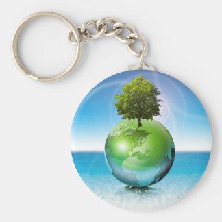世界の木-生態学の概念 キーホルダー