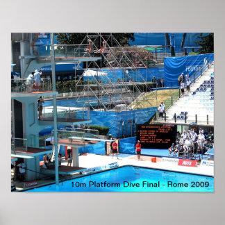 世界の水泳選手権2009年 ポスター