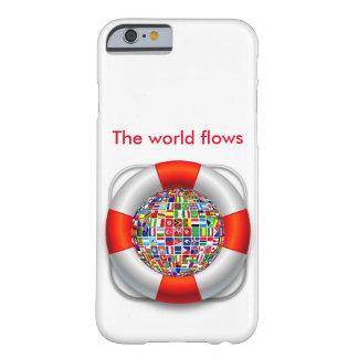 世界の流れ iPhone 6 ベアリーゼアケース