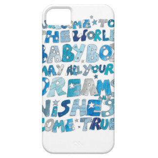 世界の男の赤ちゃんへの歓迎 iPhone SE/5/5s ケース