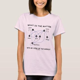 世界の私の眺めの問題は何ですか。 Tシャツ