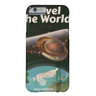 世界の空想科学小説のヴィンテージポスターは移動します BARELY THERE iPhone 6 ケース