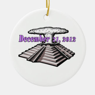 世界の端- 2012年12月21日 セラミックオーナメント