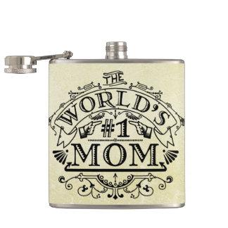 世界の第1お母さんのヴィンテージの華麗さ フラスク