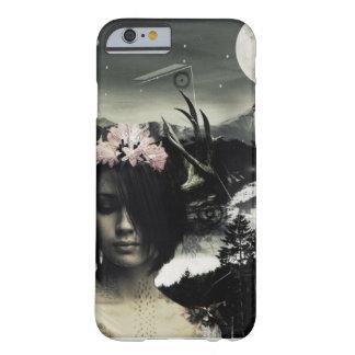 世界の黒IPhone S6/Plusのかわいらしい女の子を設計して下さい Barely There iPhone 6 ケース