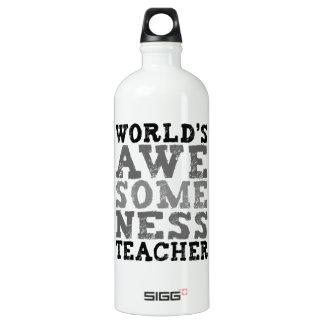 世界のAwesomenessの先生 ウォーターボトル