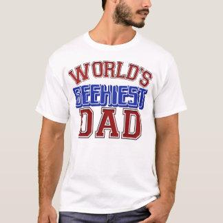 世界のGeekiestのパパのワイシャツ Tシャツ