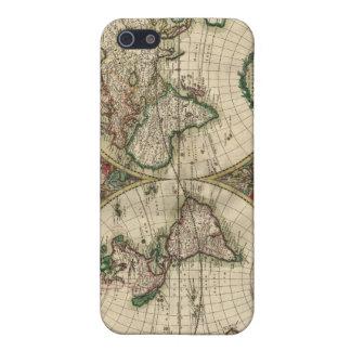 世界のGerardヴァンSchagen's Map、1689年 iPhone 5 カバー