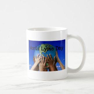 世界のLyme日 コーヒーマグカップ